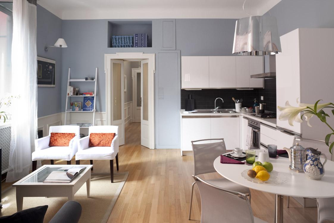 Soggiorno Con Angolo Cottura Ikea la casa per due: un bilocale di classe – miranda morico